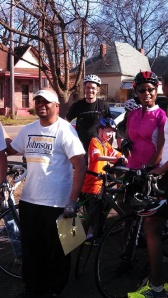 Bicyclists enjoy new Civil Rights trail extension