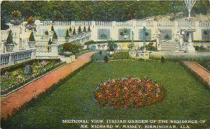 The Massey Residence's Italian Garden