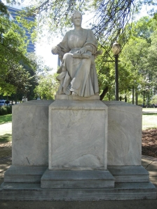 Statue of Mary A. Cahalan